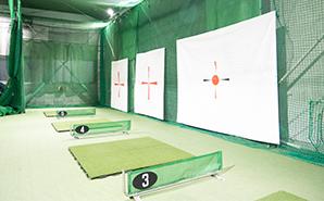 ゴルフ練習スペース